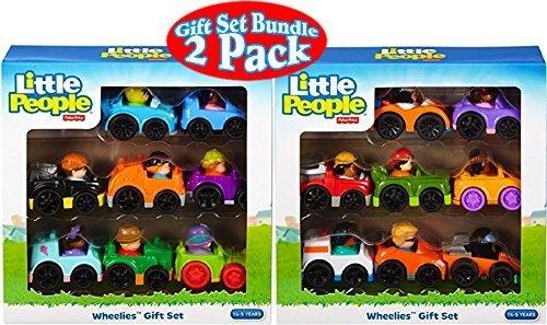 Little People Wheelies Vehicles Set - 2 Pack