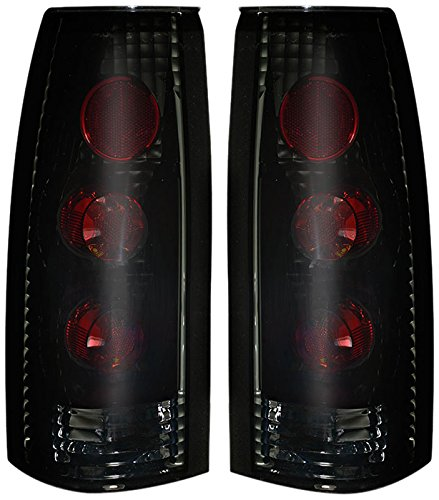 88-98 Chevy CK Altezza Tail Lights Black Housing / Smoke Lens Pair (1996 Chevy Truck Tail Lights compare prices)