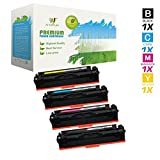 AZ SUPPLIES 4-Pack Toner | 50% more print yield | as a Replacement for HP 201A 201X Compatible with HP Color LaserJet Pro MFP M277dw, MFP M277n, MFP M274n, Pro M252n, M252dw, Pro 200 M252n