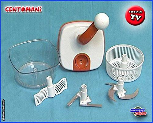 centomani robot frullatore da cucina trita taglia centrifuga ... - Robot Da Cucina Con Centrifuga