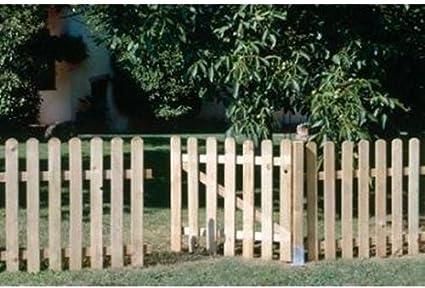 Seifil M115927 - Valla recta clasica madera 80 x 210 cm: Amazon.es: Bricolaje y herramientas