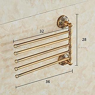 USDFJN Portasciugamani Bagno Asciugamano BarÈ Possibile Ruotare Il 32 * 28Cm