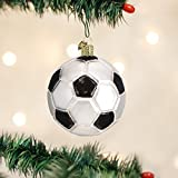 Old World Christmas Soccer Ball Glass Blown Ornament