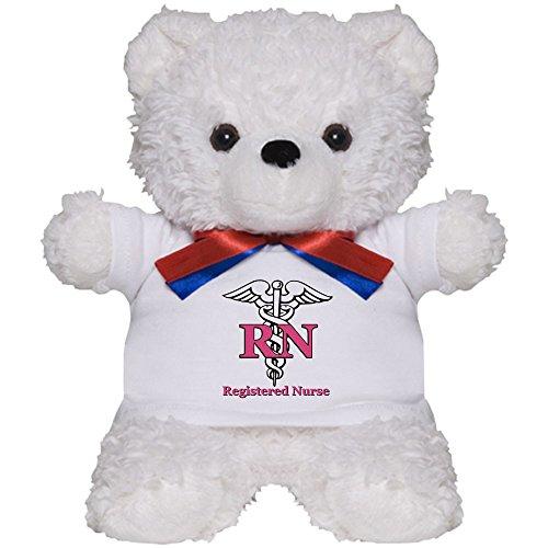 CafePress - Registered Nurse - Teddy Bear, Plush Stuffed - Personalized Dream Bear Teddy