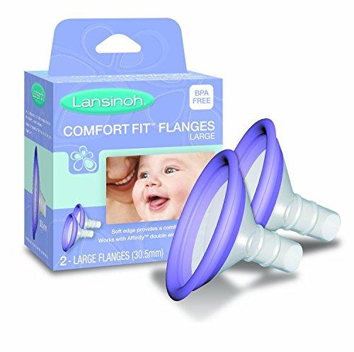 Lansinoh Comfortfit Flanges Large, 6 Pairs