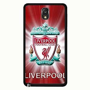 Samsung Galaxy Note 3 Case,Livepool Football Club Logo Protective Phone Case Black Hard Plastic Case Cover For Samsung Galaxy Note 3