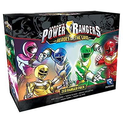 Power Rangers: Heroes of The Grid Zeo Ranger Pack: Toys & Games