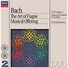 The Art Of Fugue; Musical Offering