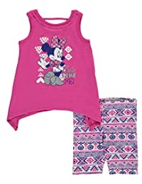 "Minnie Mouse Baby Girls' ""Cute Like Me"" 2-Piece Outfit"
