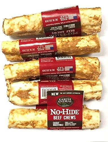 Earth Animal No Hide Beef Chews 7'' (5 Pack)