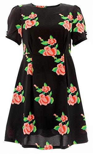 Cutie - Vestido - para mujer negro