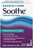 Best Bausch & Lomb Lubricants - Bausch and Lomb Soothe Preservative-Free Long-Lasting Lubricant Eye Review
