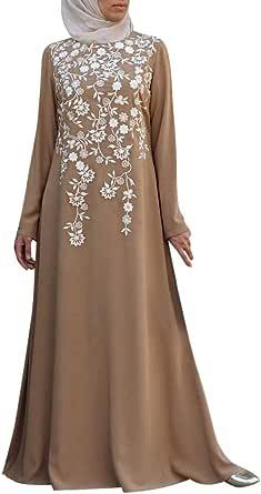 Vestido musulmán de mujer, vestido de mujer musulmana ...