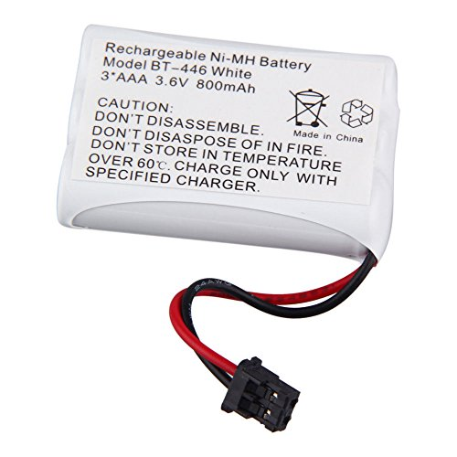 (TOPCHANCES BP-446 BT-446 BT-1005 Cordless Phone Replacement Battery 800MAH For Unide & TRU-44852 TRU-5860 TRU-5860-2 TRU-58602 TRU-5865-2 TRU-58652 TRU-5885)