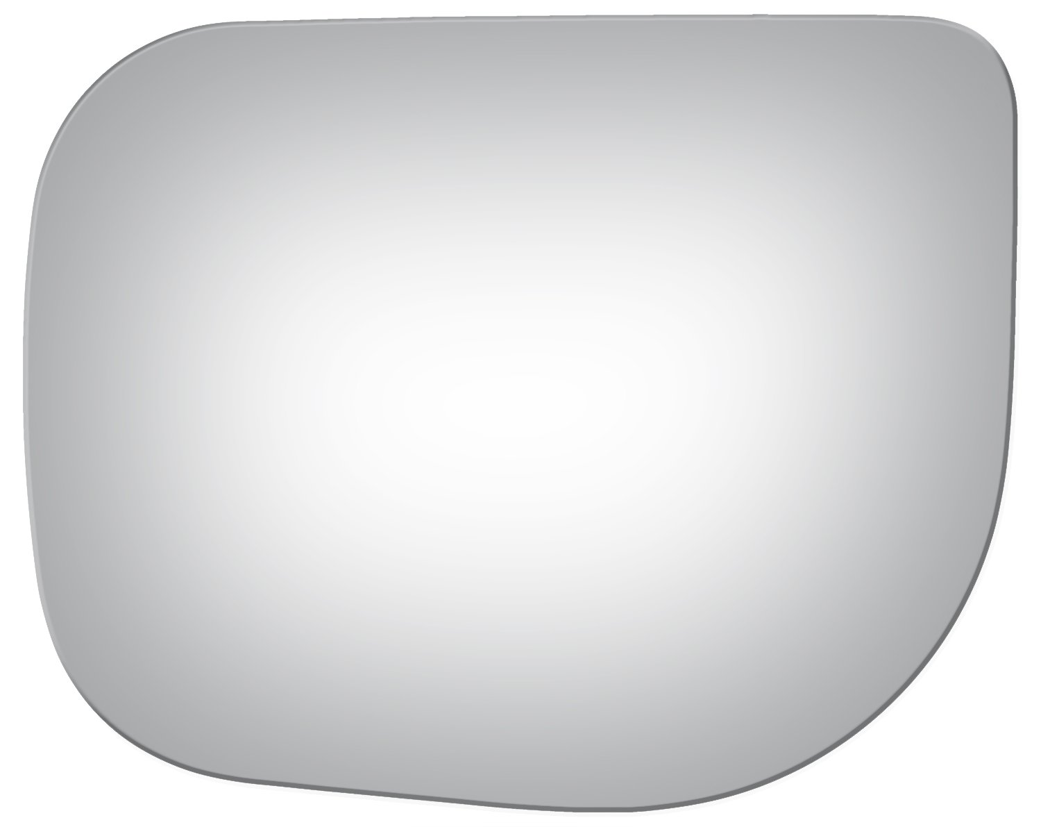 2004, 2005, 2006, 2007, 2008, 2009 Burco 4013 Flat Driver Side Replacement Mirror Glass for Nissan Armada Titan