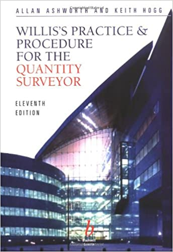 Practice and Procedure for the Quantity Surveyor