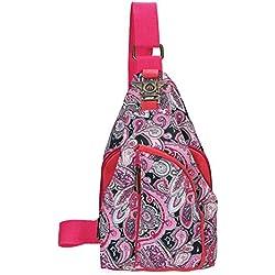 JD Million shop 2 Types Vintage 2017 Ethnic Designer Floral Printing Ladies Chest Pack Bags Original Brand Women Small Shoulder Bag Pouch Bolsas