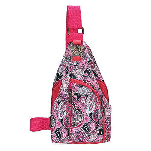 JD Million shop 2 Types Vintage 2017 Ethnic Designer Floral Printing Ladies Chest Pack Bags Original Brand Women Small Shoulder Bag Pouch Bolsas (Yves Saint Laurent Vintage Tie)