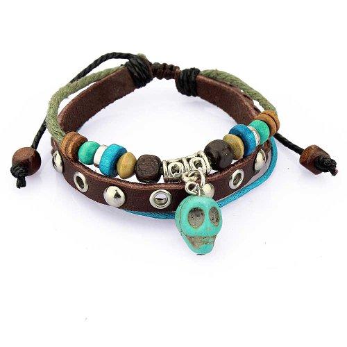 Multiple Strands Bracelet Turquoise Wristband product image