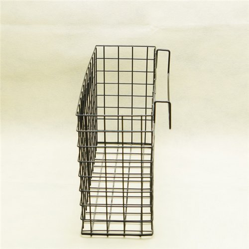 Auch Hanging Metal Wire Organizer File Basket Letter