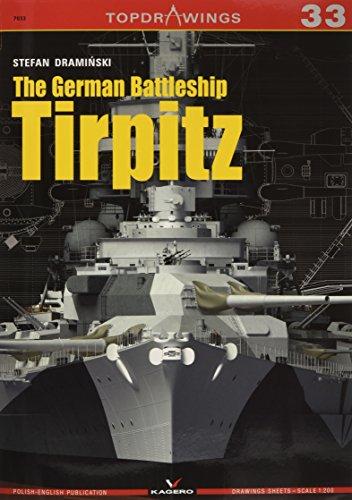 The German Battleship Tirpitz (TopDrawings) -