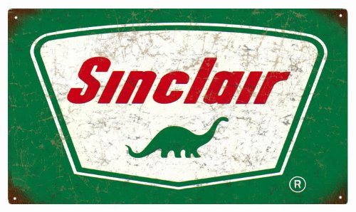 Victory Vintage Signs Sinclair Gasoline and Motor Oil Reproduction Sign