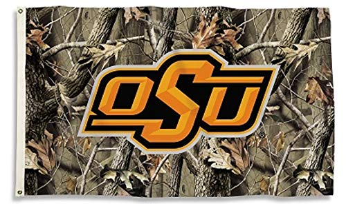 Oklahoma State Cowboys Realtree CAMO Premium 3x5 Flag Outdoor House Banner University of