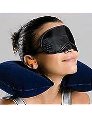 Travel Sambo U-shaped Pillow Inflatable Suit Eyeshade