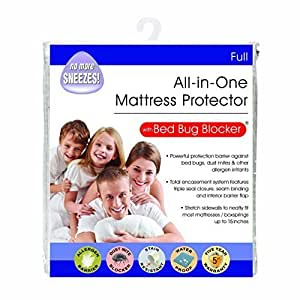 Bed Bug Blocker Full Non-Woven Zip Mattress Protector by Bed Bug Blocker