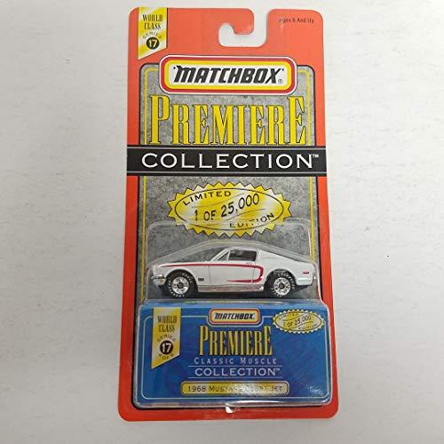 - 1968 Mustang Cobra Jet 1998 Matchbox Premiere Classic Muscle 1/64 Scale diecast car No. 4