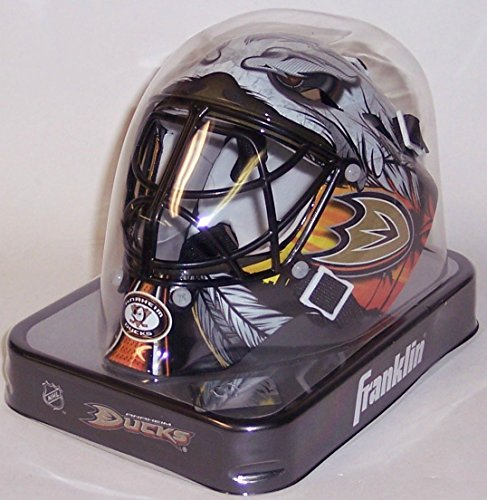 Anaheim Ducks Franklin Sports NHL Mini Goalie Mask - New in Box ()