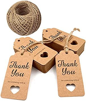 Thank You Tag Sparkle Rustic Baby Shower Hang Tag Gold Vintage Hang Tag Matching Baby Shower Accessory Baby Girl Favor Tag Burlap