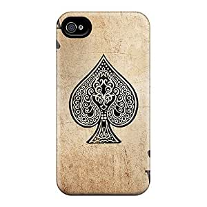 Wlk847LLbA Ace Of Spades Awesome High Quality Iphone 4/4s Case Skin