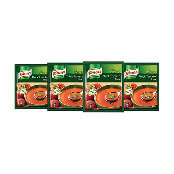 Knorr Classic Tomato Soup, 4 X 53 g