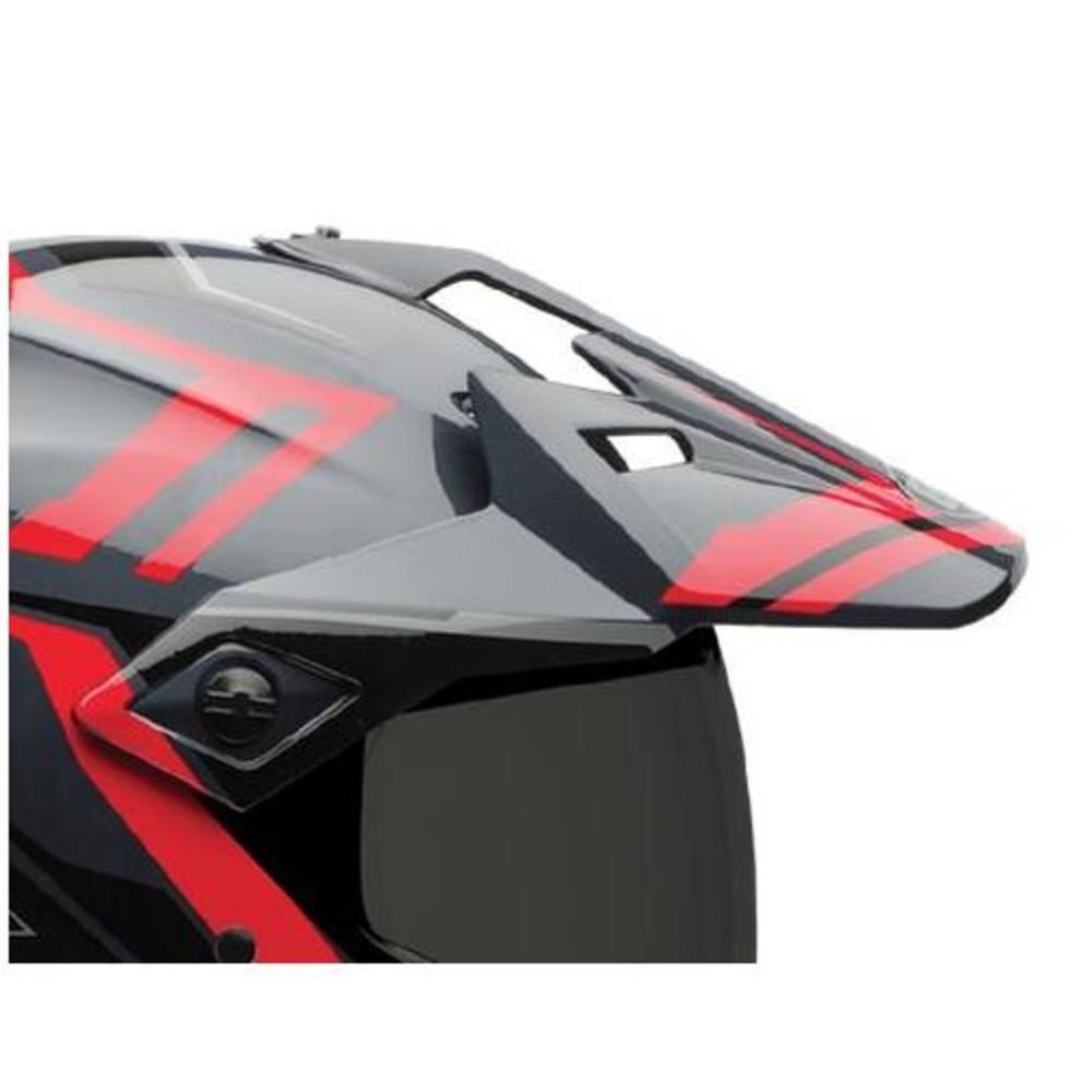 Bell Powersports MX-9 Adventure Replacement Helmet Visor (Barricade Red)