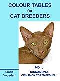 img - for Colour Tables For Cat Breeders - 3 Cinnamon & Cinnamon Tortoiseshell book / textbook / text book