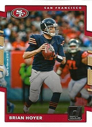 purchase cheap de73d de3a9 Amazon.com: Football NFL 2017 Donruss #233 Brian Hoyer #233 ...