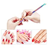 1pc Stainless Steel Double-ended Nail Pusher Nail