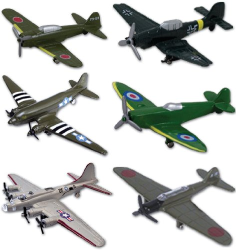 die cast airplane set - 6