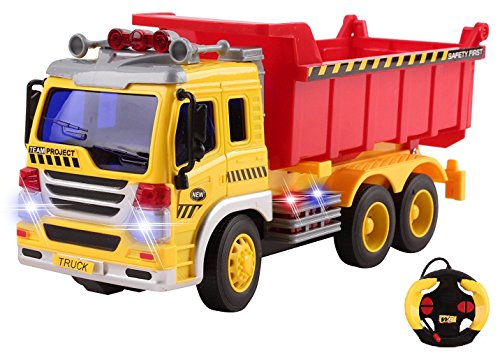 rc dump trucks with trailer - 5