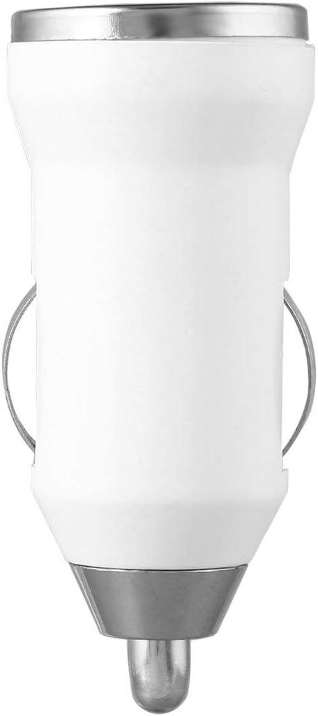 Funnyrunstore Cargador de Coche USB Adaptador de Corriente de Carga Entrada 12-24V DC Salida 5.0V 1000mA para Apple iPod Touch para iPhone 4 3G 4G 4S