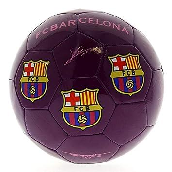 SELECCION DRIM F.C. Barcelona Balón de Fútbol Lila: Amazon.es ...