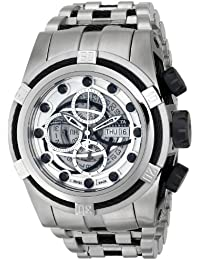Men's 14306 Bolt Analog Display Swiss Automatic Silver Watch