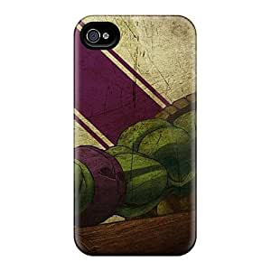 Scratch Protection Hard Phone Case For Iphone 6 With Unique Design Stylish Ninja Turtles Pattern AlissaDubois