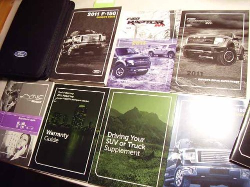 2011 Ford F150 SVT Raptor Owners Manual Portfolio Kit