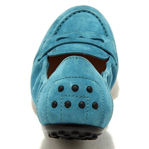Scarpe Dee 49132 Donna Tod's Blu Women Ballerine Shoes IRtRZ