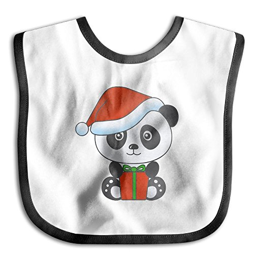 Price comparison product image Baby's Lovely Christmas Pictures Of Chinese Pandas Little Me Baby Boy Newborn Bib