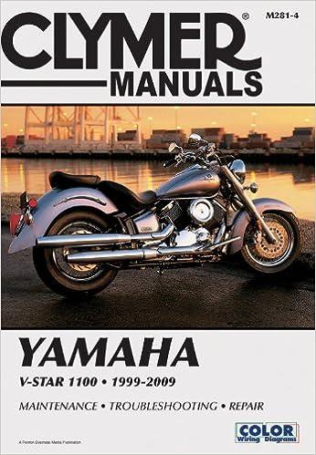 Yamaha v star 1100 clymer motorcycle repair penton staff yamaha v star 1100 clymer motorcycle repair penton staff 9781599692982 amazon books fandeluxe Images