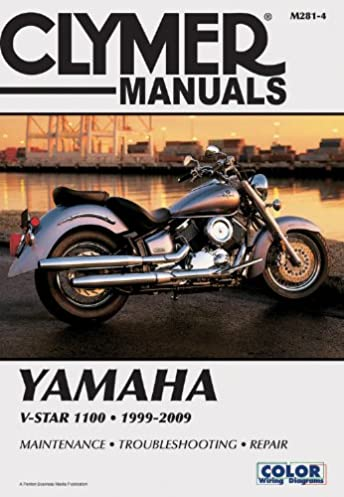 yamaha v star 1100 clymer motorcycle repair penton staff rh amazon com 2007 Yamaha 90 4 Stroke Motorcycle Yamaha Motorcycle Schematics