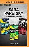 Sara Paretsky V. I. Warshawski Series: Books 15-17: Breakdown, Critical Mass, Brush Back